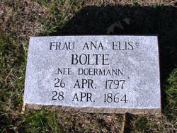 Frau/Ana Elis <i>Doermann</i> Bolte