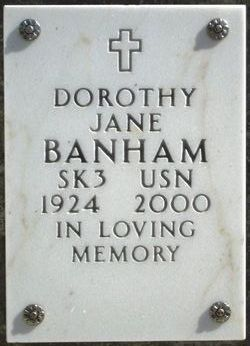Dorothy Jane Banham