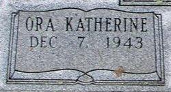 Ora Katherine Buck
