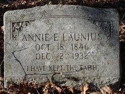 Annie Elizabeth <i>Dillard</i> Launius