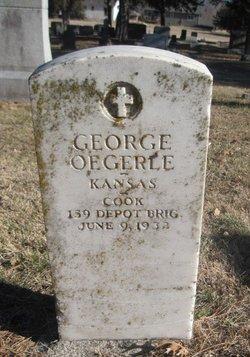 George Oegerle, Jr