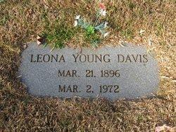 Leona Elizabeth <i>Young</i> Davis