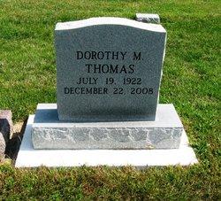 Dorothy M Thomas