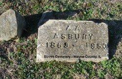 A A Asbury