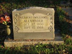 Werbert Williams Alexander