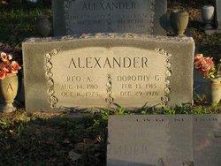 Reo A. Alexander