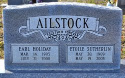 Earl Holiday Ailstock