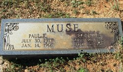 Paul R Muse