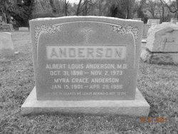 Dr Albert Louis Anderson