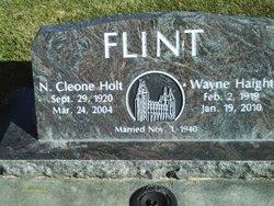 Nettie Cleone <i>Holt</i> Flint