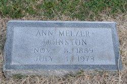 Ann <i>Melzer</i> Johnston