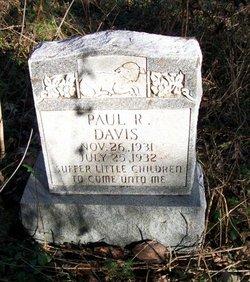Paul Richard Andrew Davis