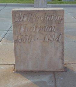 Eli Brockway Thurman