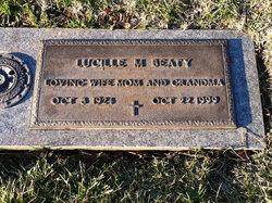 Lucille M Beaty