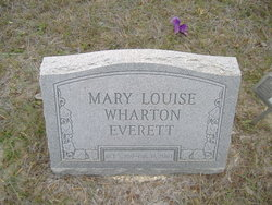 Mary Louise <i>Wharton</i> Everett
