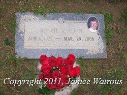 Bobbie Roberta <i>Porter</i> Allen