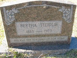 Bertha A. <i>Worsham</i> Teddlie