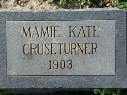 Mamie Elizabeth Cruseturner