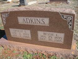 Bessie Lee Bessie <i>Steppick</i> Adkins