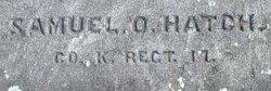 Pvt Samuel O Hatch