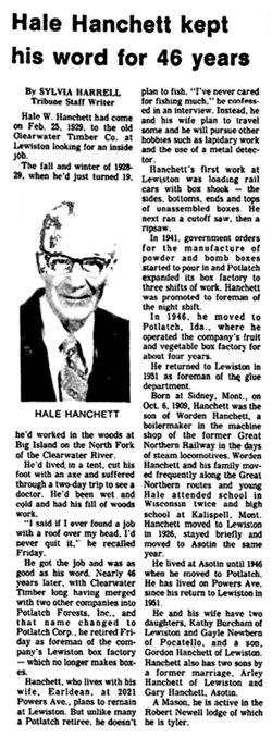 Hale Worden Hanchett