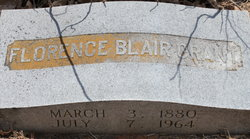 Florence Mary Elizabeth <i>Blair</i> Allen