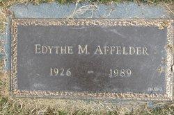 Edythe Marie <i>Hahnenstein</i> Affelder