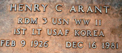 Henry C. Arant