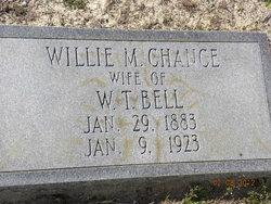 Willie Mina Elizabeth <i>Chance</i> Bell