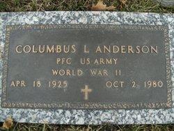 Columbus L Anderson