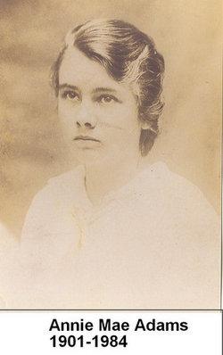 Annie Mae <i>Adams</i> Brown