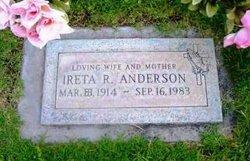 Ireta R Anderson