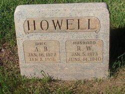 Alice Bertha <i>Cross</i> Howell