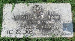 Martha W Acree