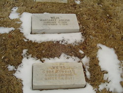 Margaret Louise <i>Walker</i> Wejs