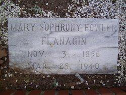Mary Sophrony <i>Fowler</i> Flanagan