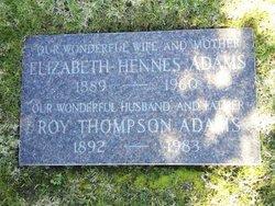 Elizabeth Irene <i>Hennes</i> Adams