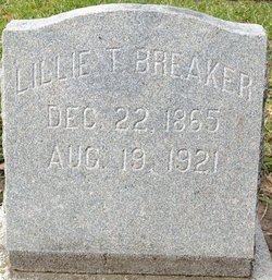 Lillian Louise Lillie <i>Trapp</i> Breaker