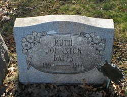 Ruth <i>Johnston</i> Bates