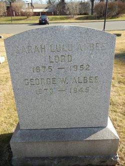 Sarah Lulu <i>Lord</i> Albee