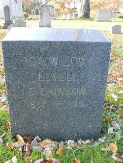 Ida Wilcox <i>Lovell</i> Dickinson