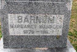 Margaret <i>Wampler</i> Barnum