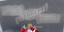 Faye <i>Coffee</i> Bramblett