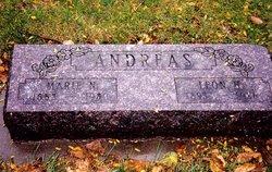 Mary N. Marie <i>Plapp</i> Andreas