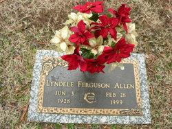 Lyndele <i>Ferguson</i> Allen