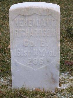 Nehemiah F Richardson