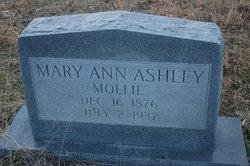 Mary Ann <i>Winstead</i> Ashley