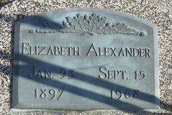 Elizabeth Linda <i>Smith</i> Alexander