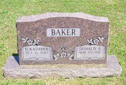 Kathryn Helen <i>Hunt</i> Baker