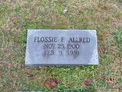 Flossie King <i>Fogleman</i> Allred